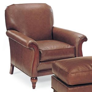 Fairfield Chairs Leather Lounge Chair