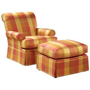 Fairfield Chairs Chair & Ottoman Set