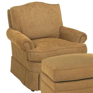 Camel Back Swivel Glider