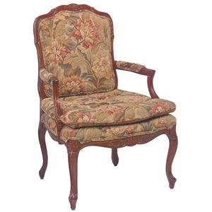 Fairfield Chairs Accent Chair with Knife Edge Seat Cushion