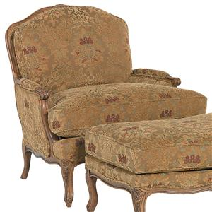 Traditionally Styled Lounge Chair