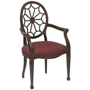 Fairfield Chairs Web Back Arm Chair