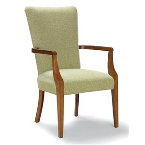 Fairfield Chairs Exposed Wood Arm Chair