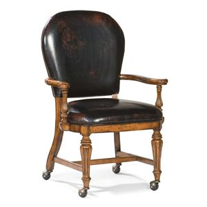 Fairfield Chairs Exposed Wood Chair With Casters