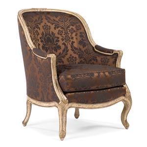 Theatrical Victorian Lounge Chair