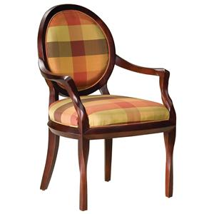 Oval Back Occasional Chair