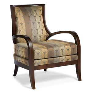 Fairfield Chairs Stationary Exposed Wood Chair