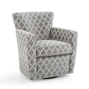Contemporary Swivel Accent Chair
