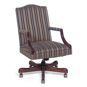 Fabric Upholstered Executive Swivel Chair