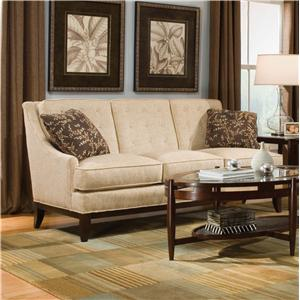 Button Tufted Accent Sofa