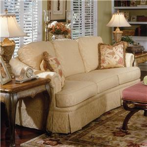 Slighlty Arched Traditional Sofa
