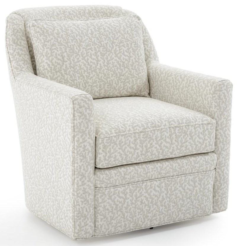 Swivel Accent Chairs Weston Swivel Chair by Fairfield at Baer's Furniture