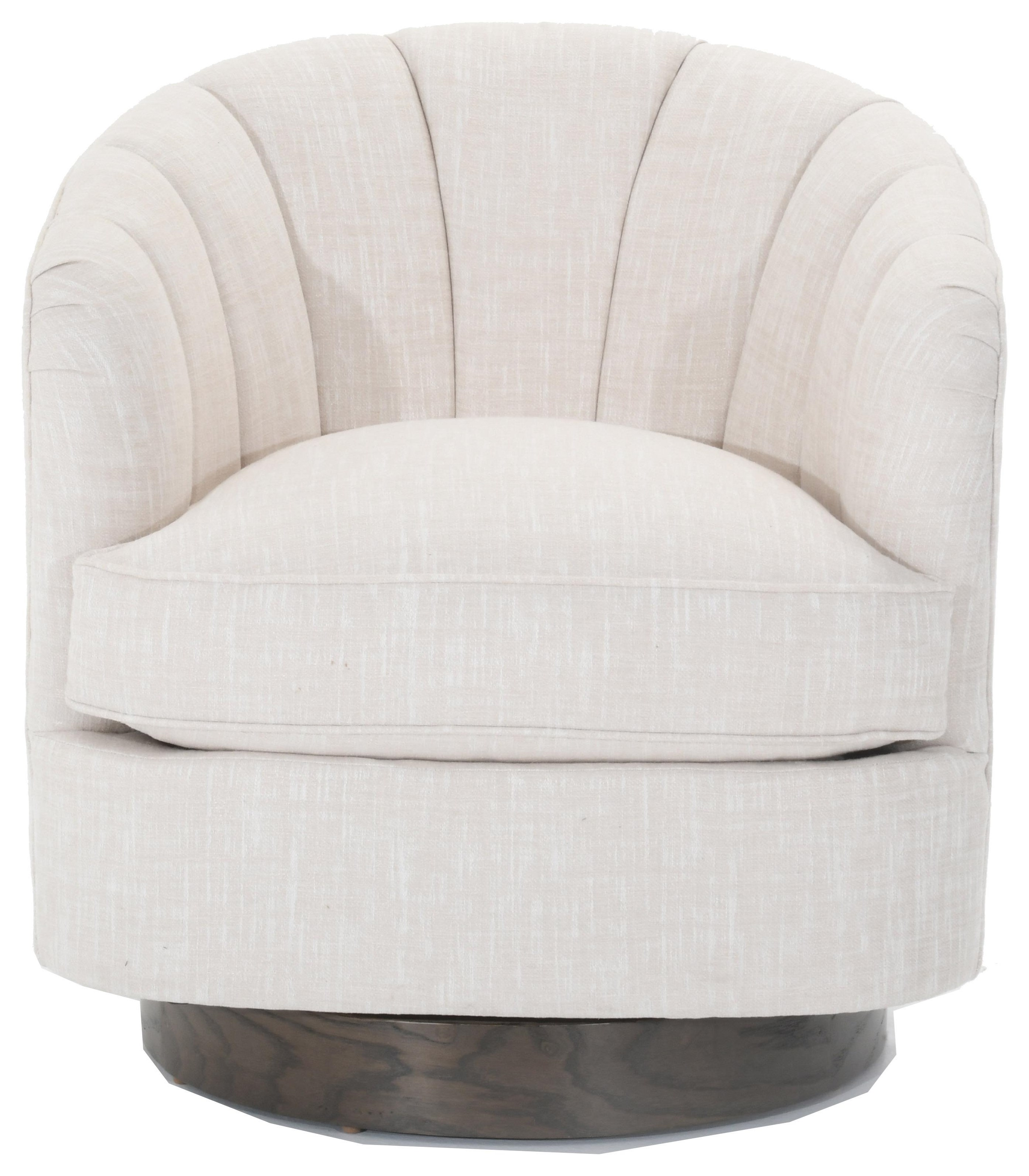 Swivel Accent Chairs Tipsy Swivel Chair by Fairfield at Baer's Furniture