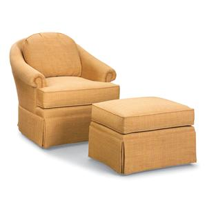 Fairfield Swivel Accent Chairs Swivel Chair and Ottoman