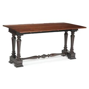 Sofa Table with Trestle Base