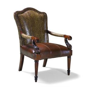 Fairfield Chairs Exposed Wood Occasional Chair