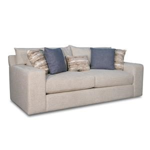 Sofa with Down and Feather Blend Cushions