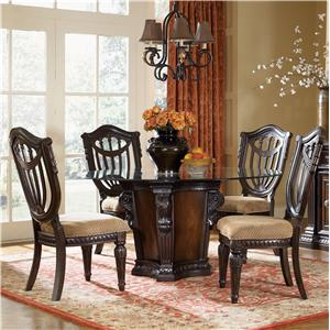 5 Piece Dining Table and Chairs Set
