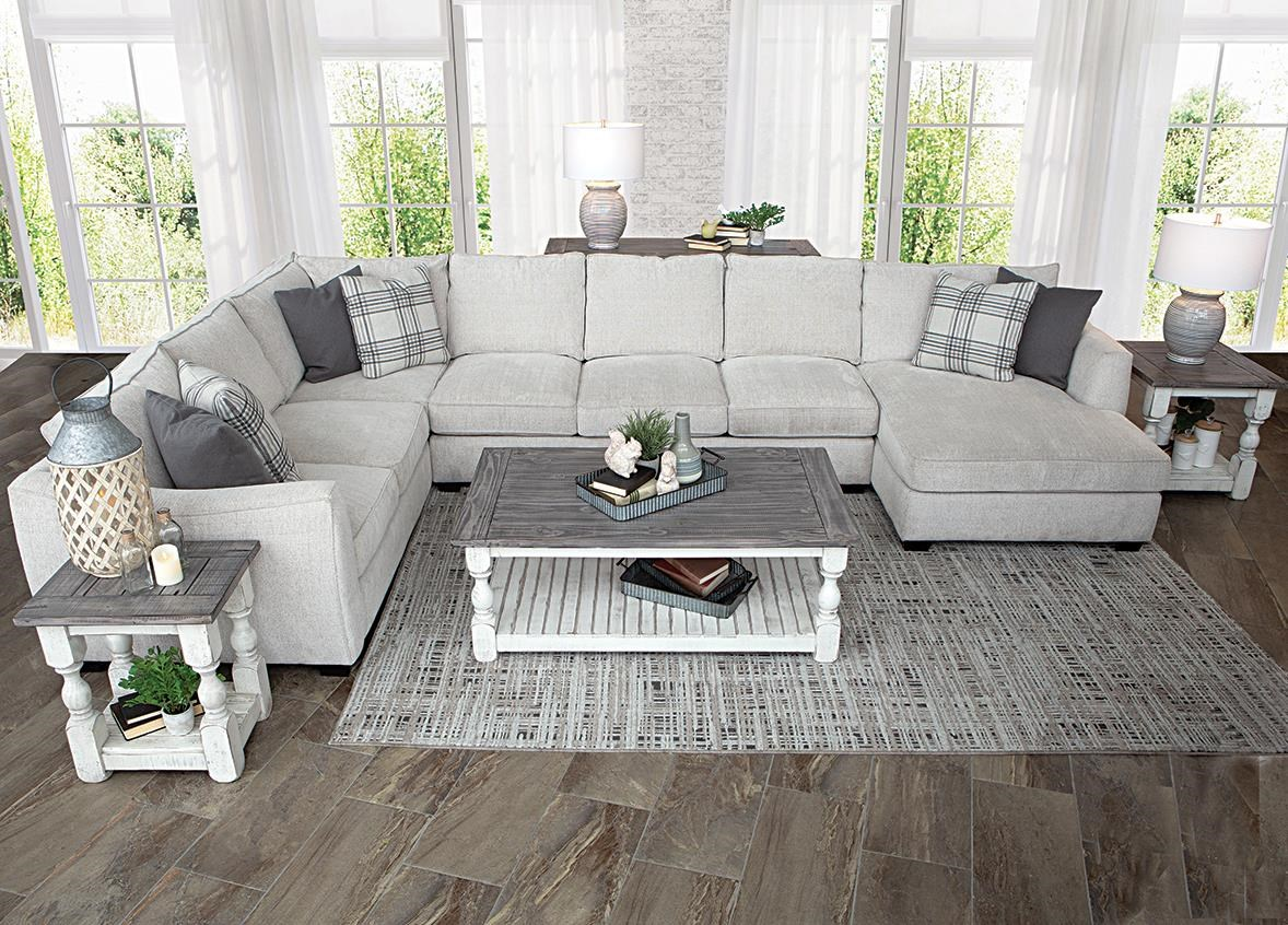 Destin 3 Piece Sectional by Fairmont Seating at Darvin Furniture