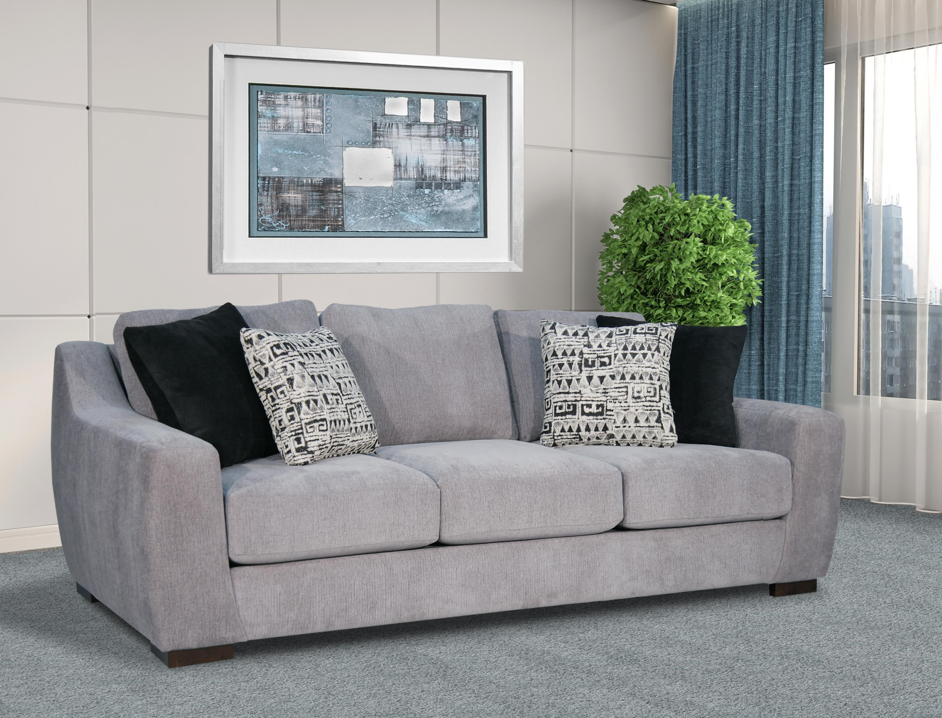"""Roman 101"""" Sofa by Fairmont Seating at Darvin Furniture"""
