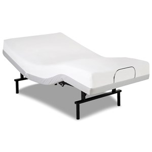 Vibrance Queen Adjustable Bed Base with Head and Foot Articulation