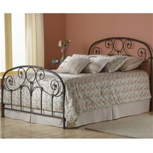 Queen Bed Without Frame and with Scroll Work