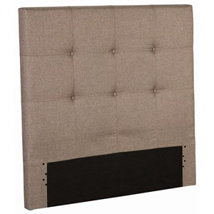 Twin Henley Upholstered Kids Headboard Panel with Button Tufted Design