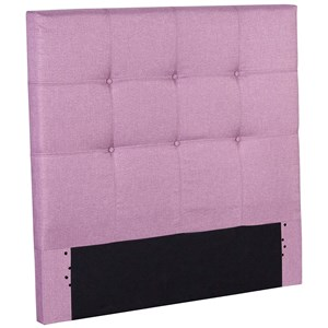 Full Henley Upholstered Kids Headboard Panel with Button Tufted Design