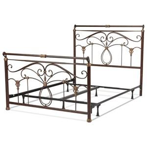 Full Lucinda Bed w/ Frame