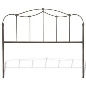 Queen Transitional Affinity Metal Headboard