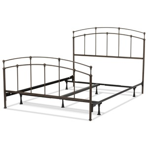 Queen Fenton Metal Bed w/ Frame