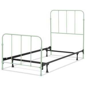 Nolan Full Complete Kids Bed with Metal Duo Panels