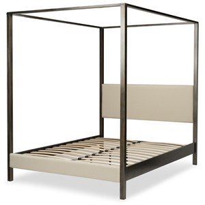 Queen Contemporary Avalon Canopy Bed