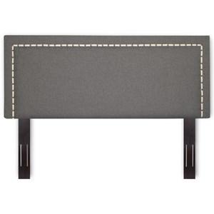 King / Cal King Wood and Fabric Headboard