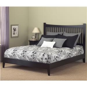 Fashion Bed Group Wood Beds Queen Jakarta Platform Bed