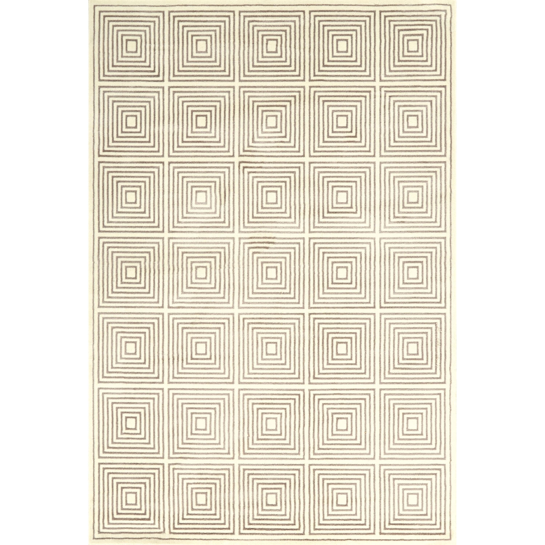 "Azeri III Cream/Gray 2'-2"" x 4' Area Rug by Feizy Rugs at Sprintz Furniture"