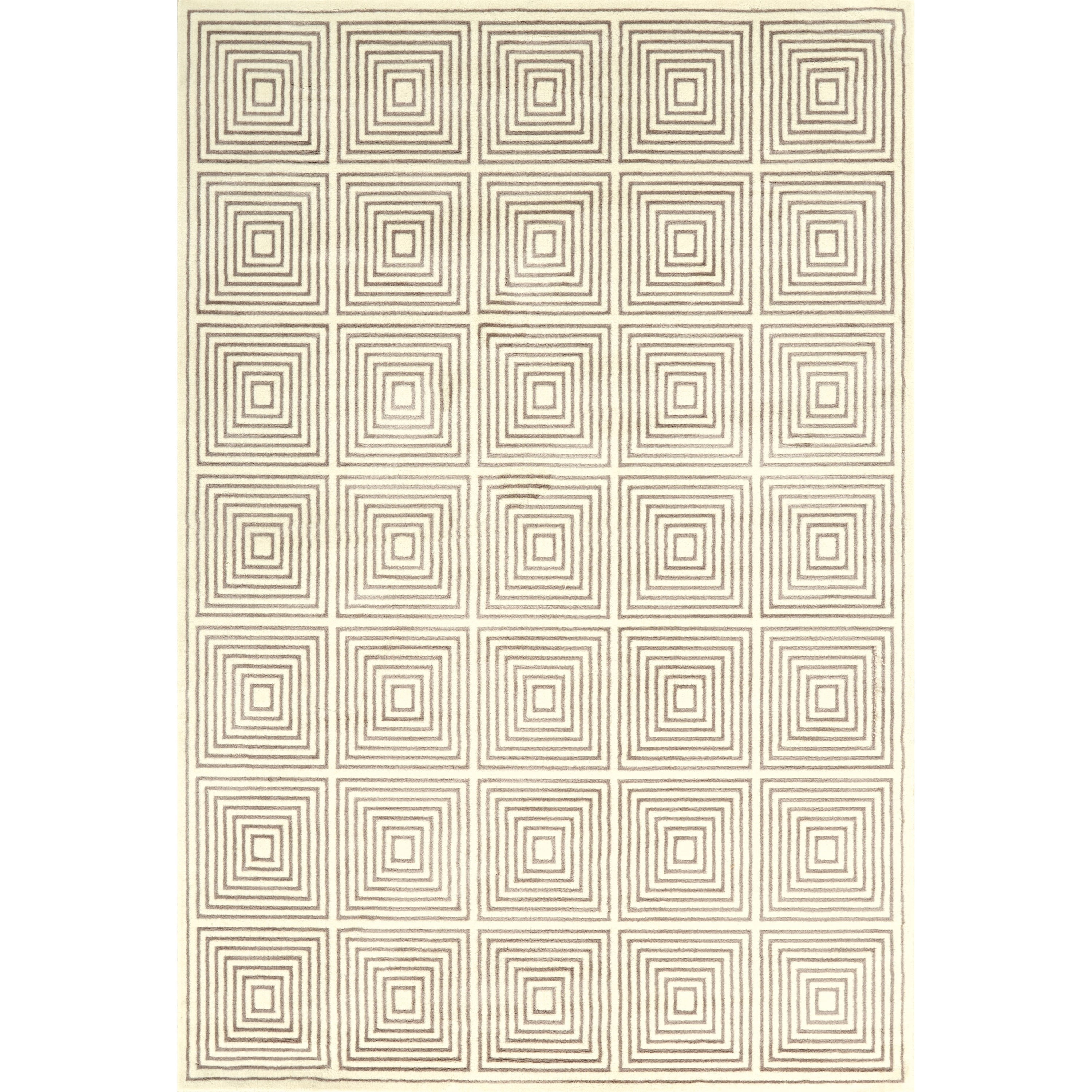 "Azeri III Cream/Gray 2'-10"" X 7'-10"" Runner Rug by Feizy Rugs at Sprintz Furniture"