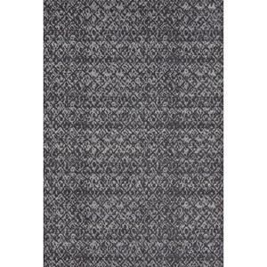 Black/Dark Gray 5' x 8' Area Rug