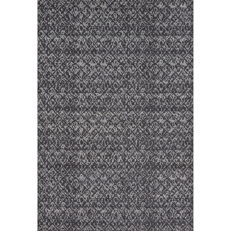 "Azeri Black/Dark Gray 2'-10"" X 7'-10"" Runner Rug by Feizy Rugs at Sprintz Furniture"