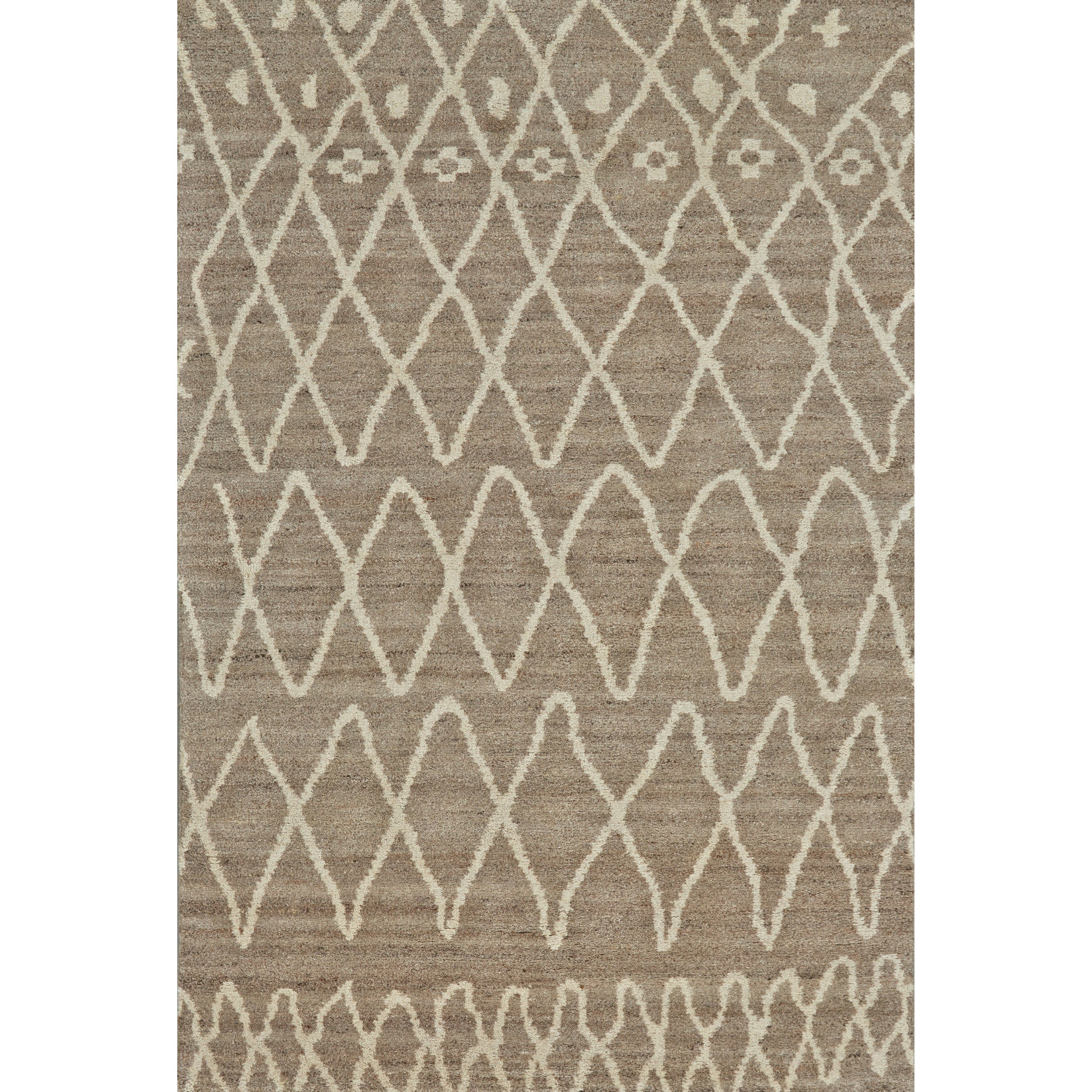 "Barbary Natural/Slate 7'-9"" x 9'-9"" Area Rug by Feizy Rugs at Sprintz Furniture"