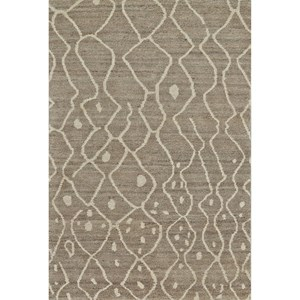 """Natural/Gray 5'-6"""" x 8'-6"""" Area Rug"""