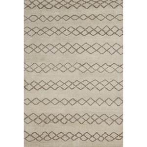 Natural/Cashmere 2' x 3' Area Rug