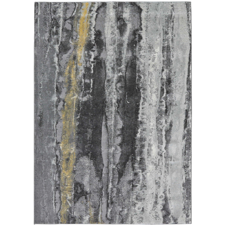 Bleecker Asphalt 8' X 11' Area Rug by Feizy Rugs at Sprintz Furniture