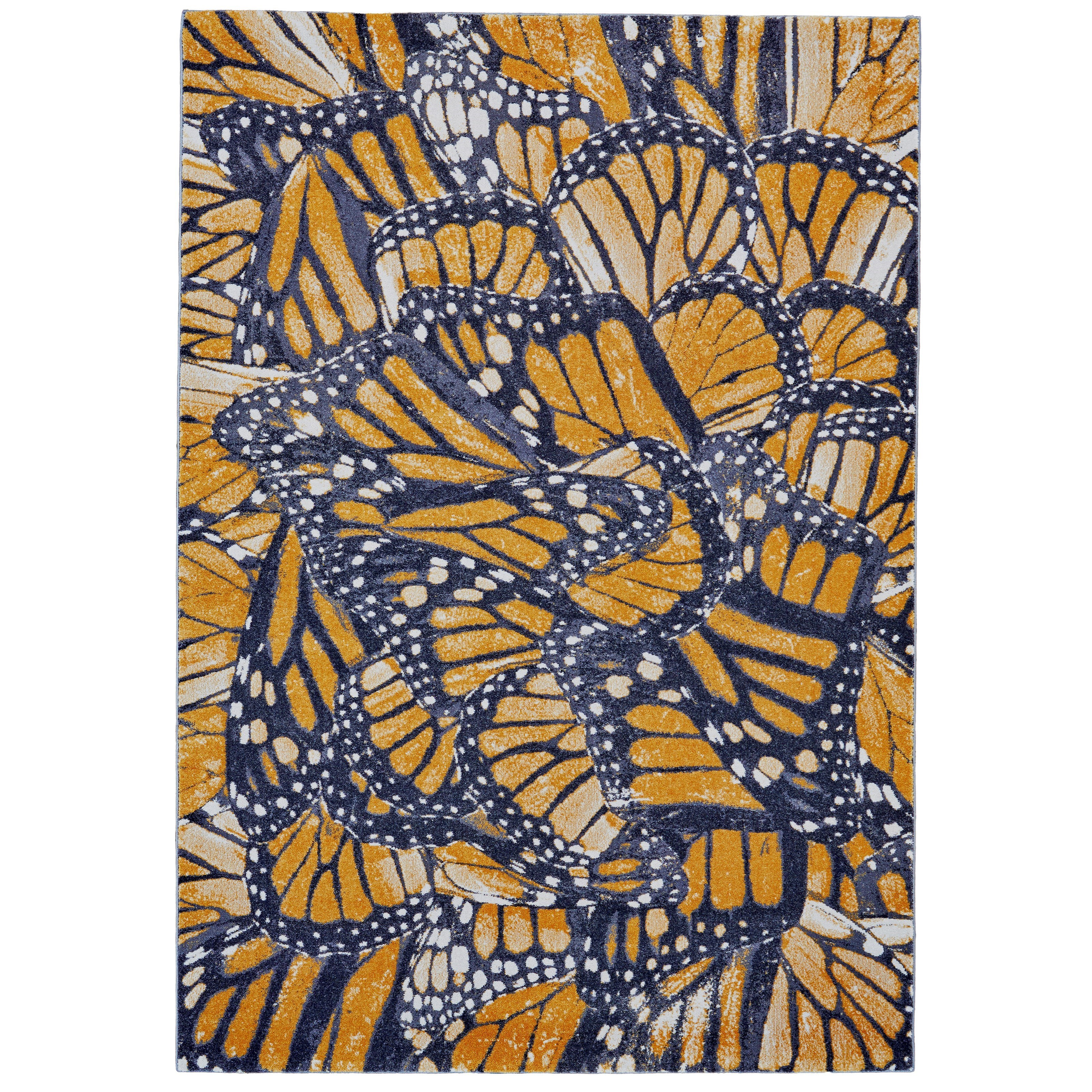 """Cambrian Cornflower 2'-2"""" x 4' Area Rug by Feizy Rugs at Sprintz Furniture"""
