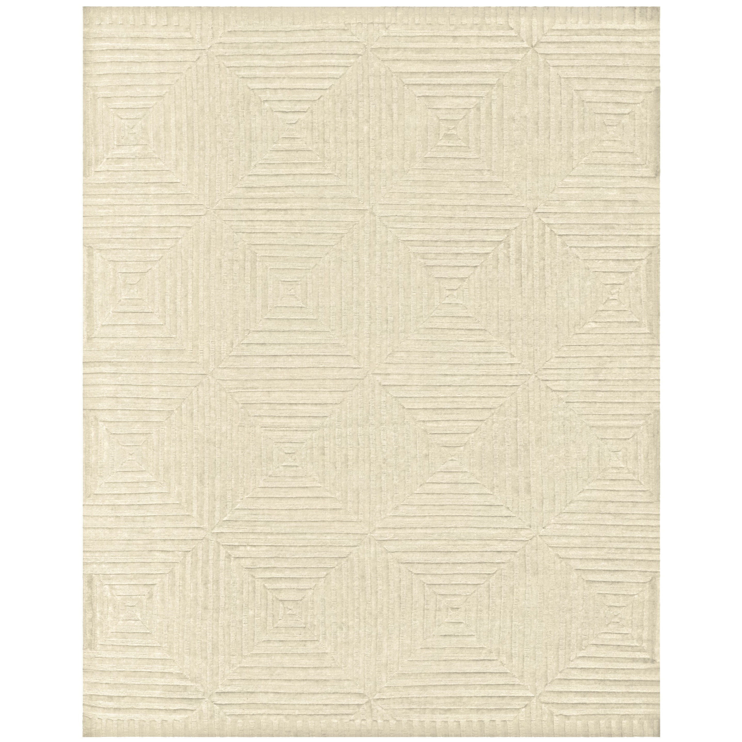 "Channels Ivory 7'-9"" x 9'-9"" Area Rug by Feizy Rugs at Sprintz Furniture"