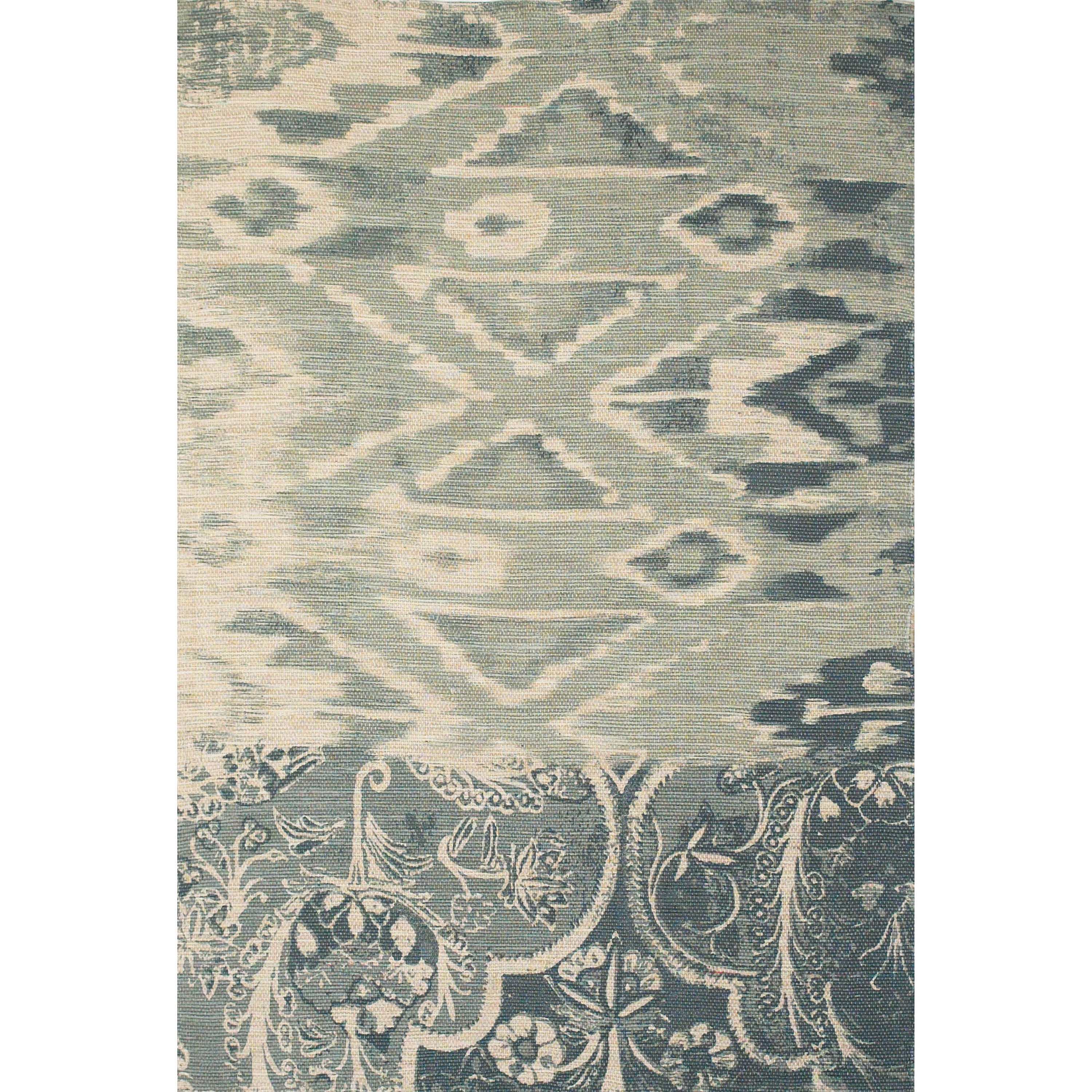 Coronado Light Blue 4' x 6' Area Rug by Feizy Rugs at Sprintz Furniture