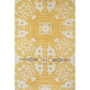 Yellow 2' x 3' Area Rug