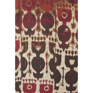 Red/Brown 5' x 8' Area Rug