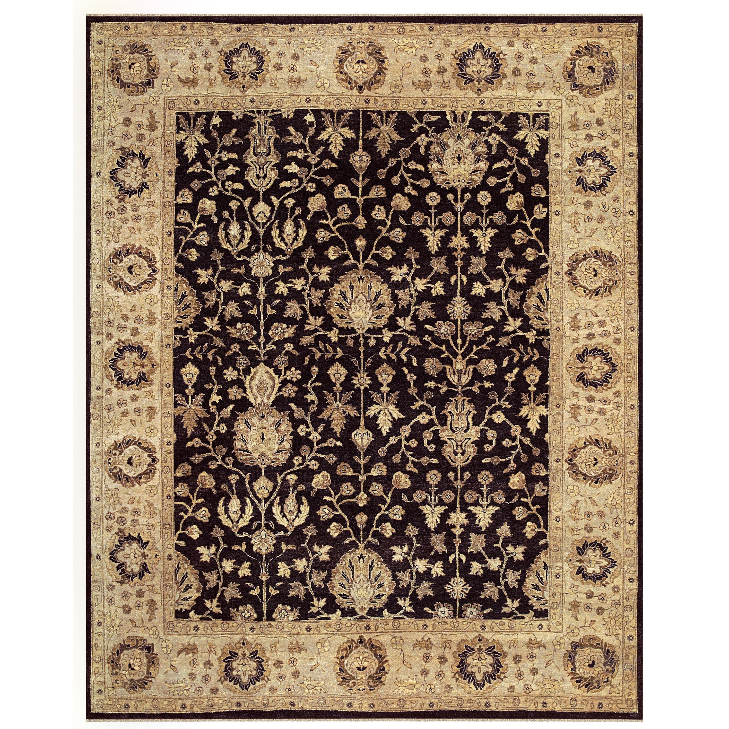 "Drake Black/Beige 8'-6"" x 11'-6"" Area Rug by Feizy Rugs at Sprintz Furniture"