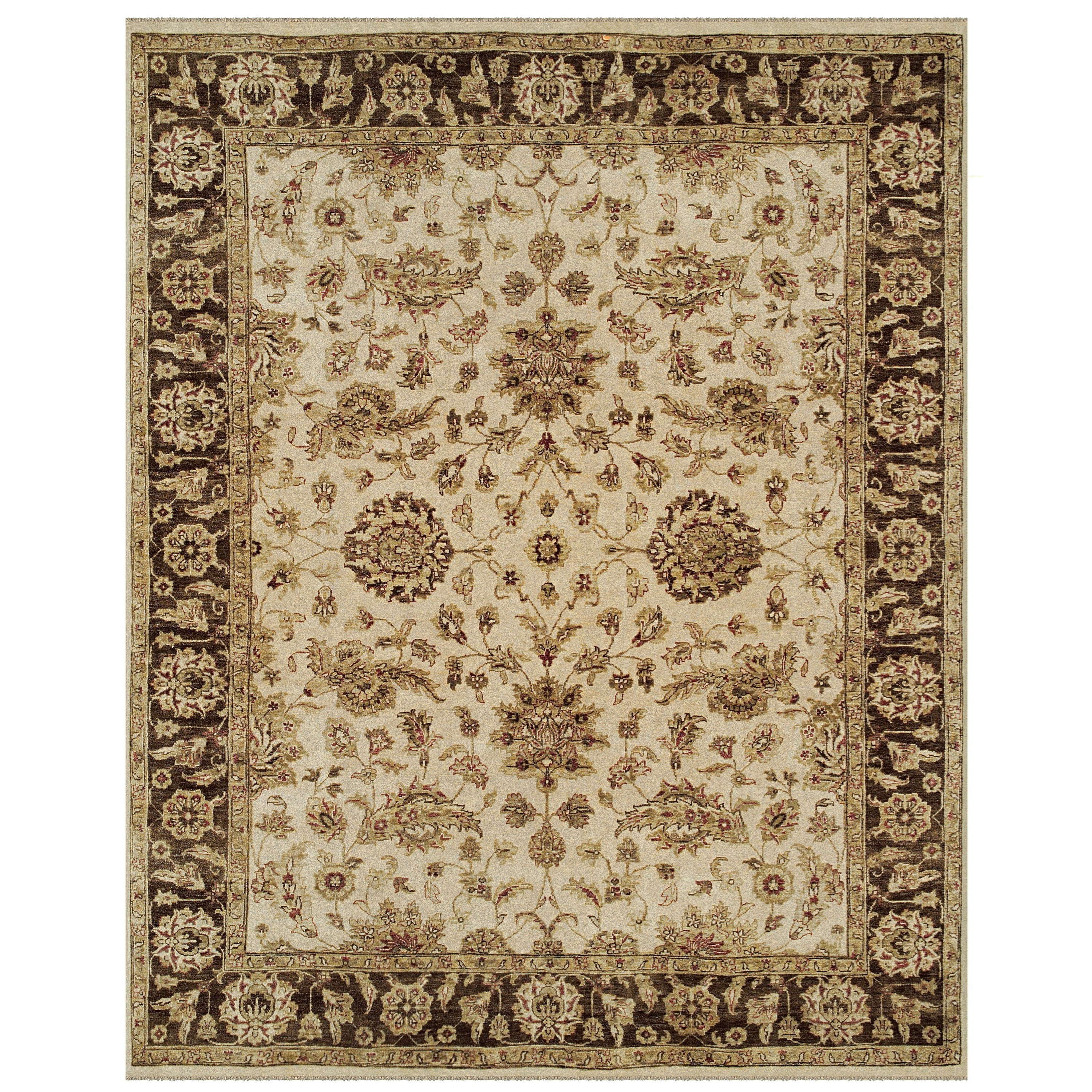 Drake Ivory/Brown 2' x 3' Area Rug by Feizy Rugs at Jacksonville Furniture Mart